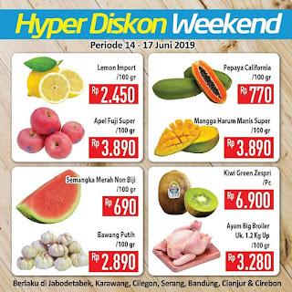 #Hypermart - #Promo #Katalog JSM Periode 14 - 17 Juni 2019