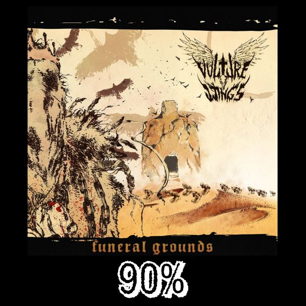 Vulture Wings Funeral Grounds EP Reviews by BDP Metal