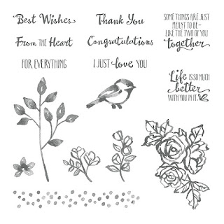 Petal Palette stamp set - A gorgeous shabby type floral stamp set - get yours here - http://bit.ly/2EToWS9