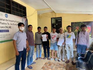 Restorasi Justice, Pelaku Tawuran di Depan RS. Sinar Kasih Berdamai
