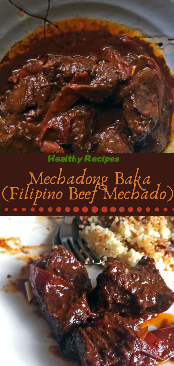 Healthy Recipes | Mechadong Bаkа (Filipino Beef Mесhаdо), Healthy Recipes For Weight Loss, Healthy Recipes Easy, Healthy Recipes Dinner, Healthy Recipes Pasta, Healthy Recipes Quick, Healthy Recipes For College Students, Healthy Recipes Slow Cooker, Healthy Recipes With Calories, Healthy Recipes For Pregnancy, Healthy Recipes For 2, Healthy Recipes Wraps, Healthy Recipes Yummy, Healthy Recipes Super, Healthy Recipes Best, Healthy Recipes For The Week, Healthy Recipes Casserole, Healthy Recipes Salmon, Healthy Recipes Tasty, Healthy Recipes Avocado, Healthy Recipes Quinoa, Healthy Recipes Cauliflower, Healthy Recipes Pork, Healthy Recipes Steak, Healthy Recipes For School, Healthy Recipes Slimming World, Healthy Recipes Fitness, Healthy Recipes Baking, Healthy Recipes Sweet, Healthy Recipes Indian, Healthy Recipes Summer, Healthy Recipes Vegetables, Healthy Recipes Diet, Healthy Recipes No Meat, Healthy Recipes Asian, Healthy Recipes On The Go, Healthy Recipes Fast, Healthy Recipes Ground Turkey, Healthy Recipes Rice, Healthy Recipes Mexican, Healthy Recipes Fruit, Healthy Recipes Tuna, Healthy Recipes Sides, Healthy Recipes Zucchini, Healthy Recipes Broccoli, Healthy Recipes Spinach,  #healthyrecipes #recipes #food #appetizers #dinner #mechadong #baka