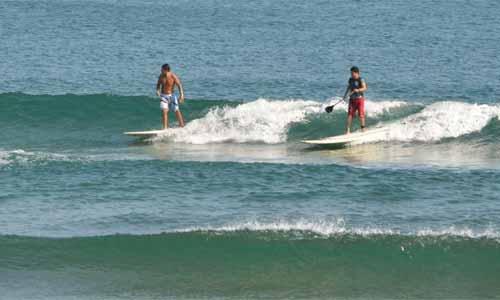 El surf en las playas de Coatzacoalcos