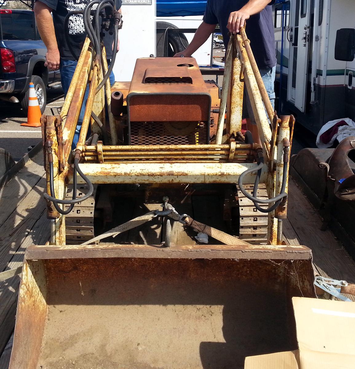 Just A Car Guy: I came across a Struck Magnatrac MT 1800