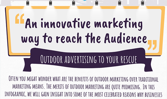 Benefits of Outdoor Marketing over Traditional Marketing #infographic