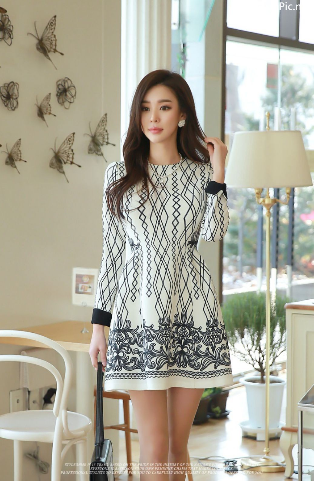 Image-Korean-Fashion-Model-Park-Da-Hyun-Office-Dress-Collection-TruePic.net- Picture-6