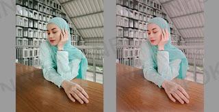 Rumus Lightroom Selfie Hijab
