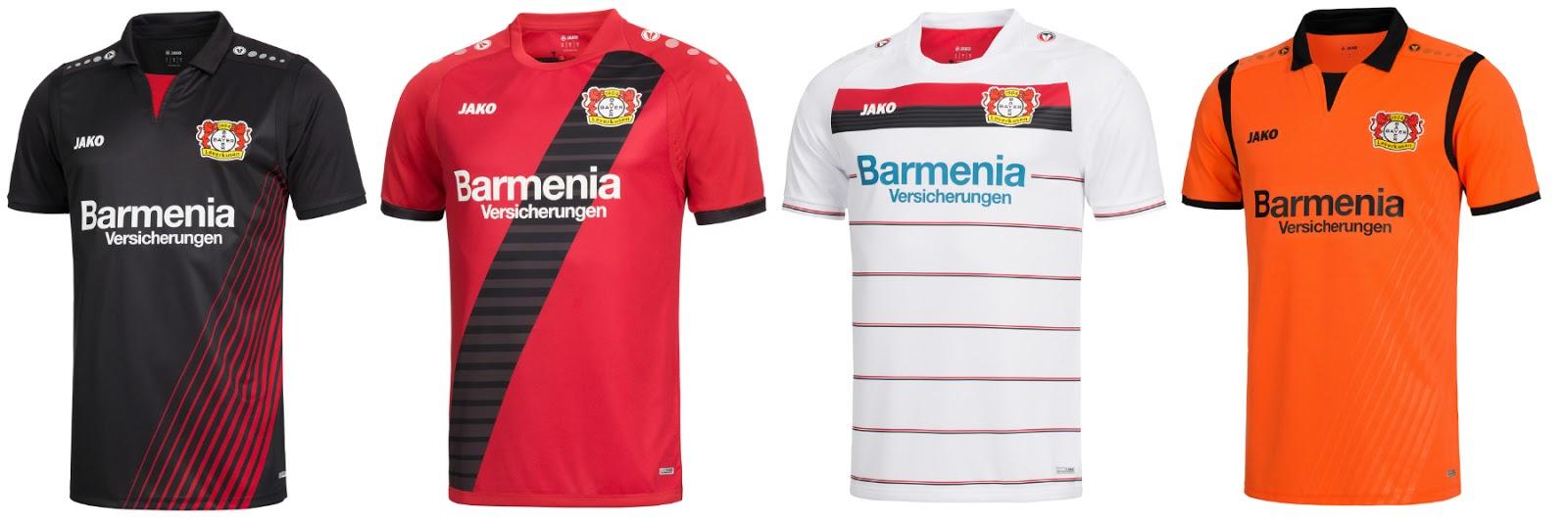 bf8907654e Todas as camisas da temporada 2017 2018 dos 18 clubes da Bundesliga ...