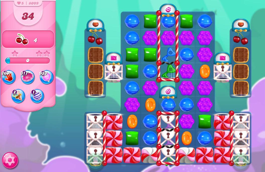 Candy Crush Saga level 8099