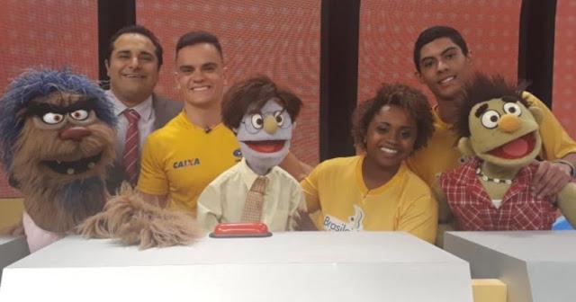 """Programa """"Tá Certo?"""" recebe os ginastas Daiane dos Santos, Lucas dos Santos e Caio Souza"""