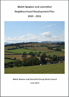 Cover of Welsh Newton and Llanrothal Group Neighbourhood Plan