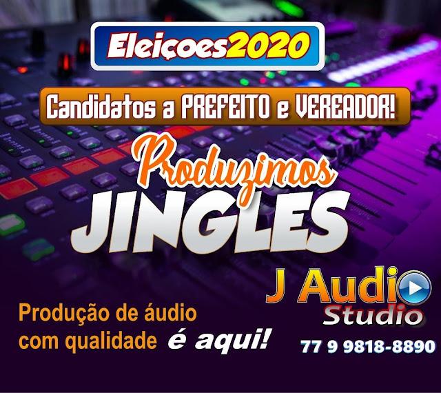 Atenção candidatos a PREFEITO E VEREADOR, o J ÁUDIO STUDIO está produzindo jingles de campanha, FAÇA SEU ORÇAMENTO