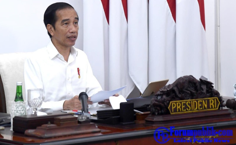 Jokowi Siapkan Program Pemulihan Ekonomi Nasional yang Tepat dan Cepat