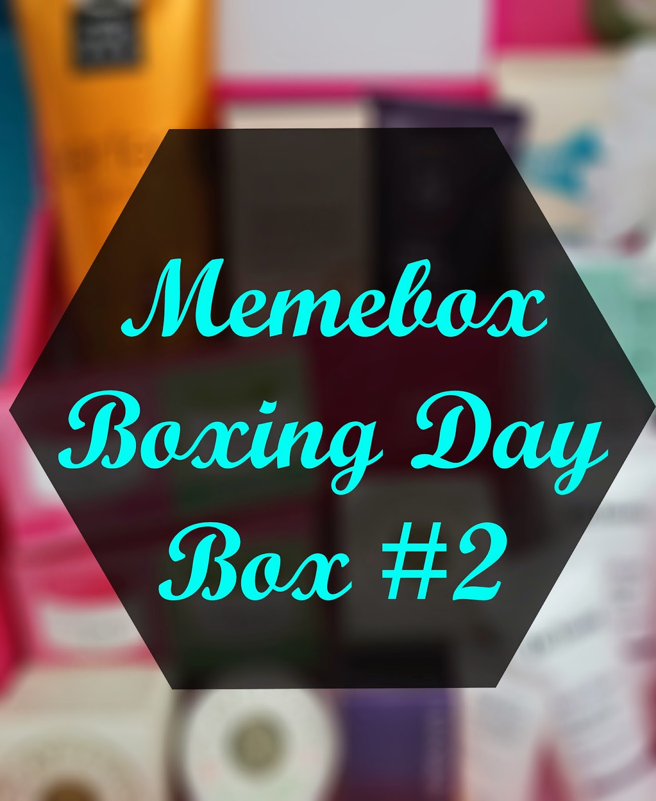 Unboxing: Memebox Boxing Day Box #2