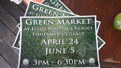 The Next Samui Green Market will be on 5th June @ Elysia, Fisherman's Village