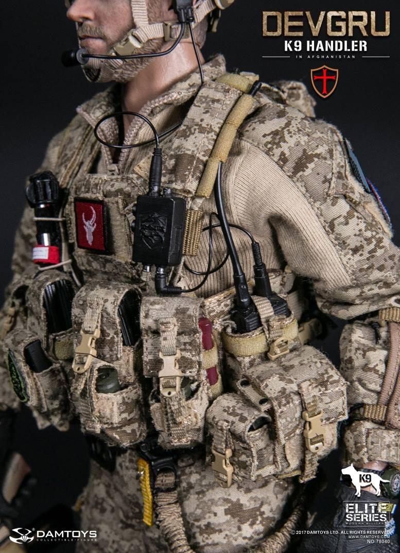1//6 Scale DAMTOYS 78040 DEVGRU K9-handler in Afghanistan modular Patrol Vest