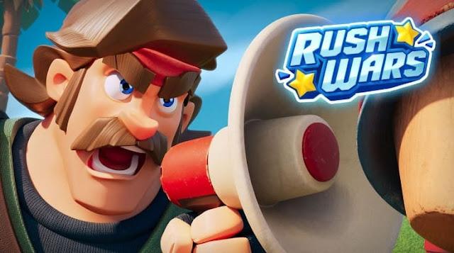 اطلاق لعبة جديدة Rush Wars على جوجل بلاي