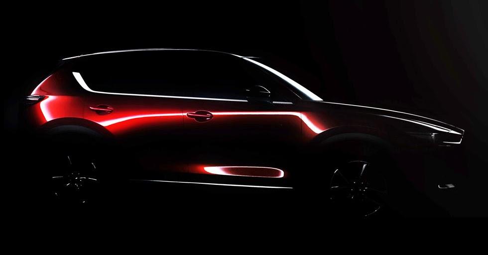 All New 2017 Mazda Cx 5 Teased Debuts In La