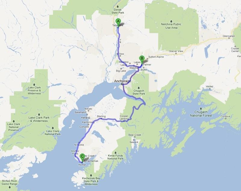 Homer Alaska Map Area.Artstream Road Trip Going South To Palmer And Homer Alaska