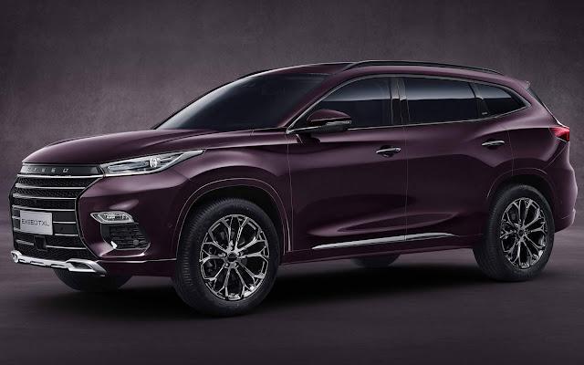 Chery apresenta EXEED TXL: SUV premium - China