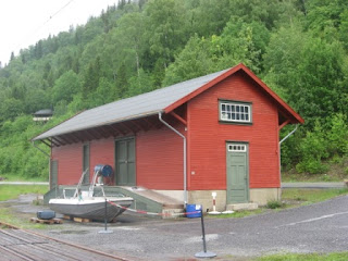 Norwegian Goods shed
