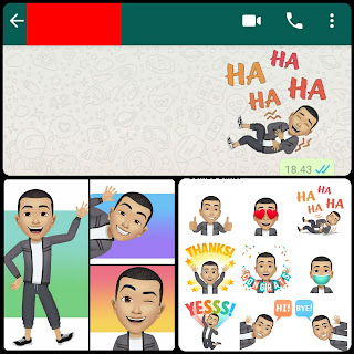 Cara Membuat Avatar Facebook Dan Dijadikan Sticker WhatsApp