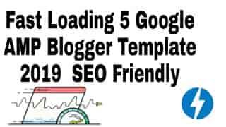 Blogger amp Template