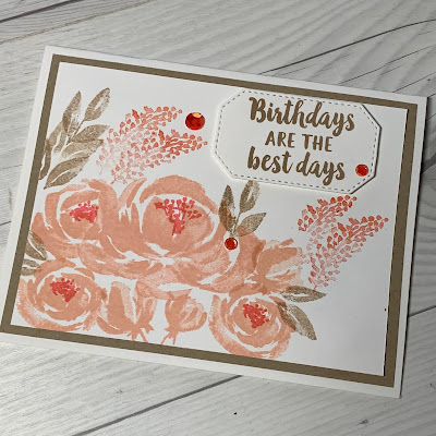 Card idea using Beautiful Friendship from Stampin' Up!