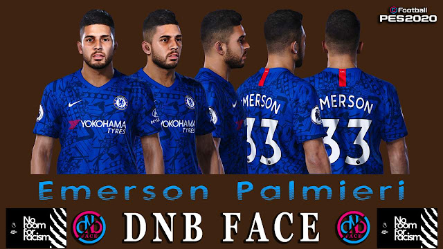 PES 2020 Emerson Face by DNB