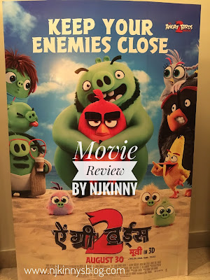 #MovieReview: Angry Birds 2 (Hindi Dub) ~ A silly, laugh-out-loud, fun movie