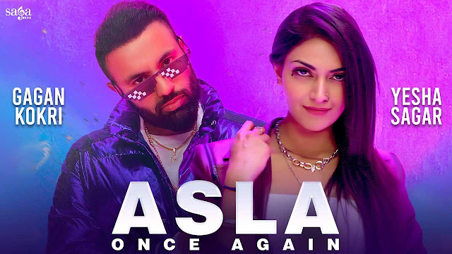 Asla Once Again Lyrics – Gagan Kokri X Loco Ink