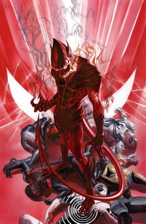 amazing spider man red goblin miles morales anti venom silk