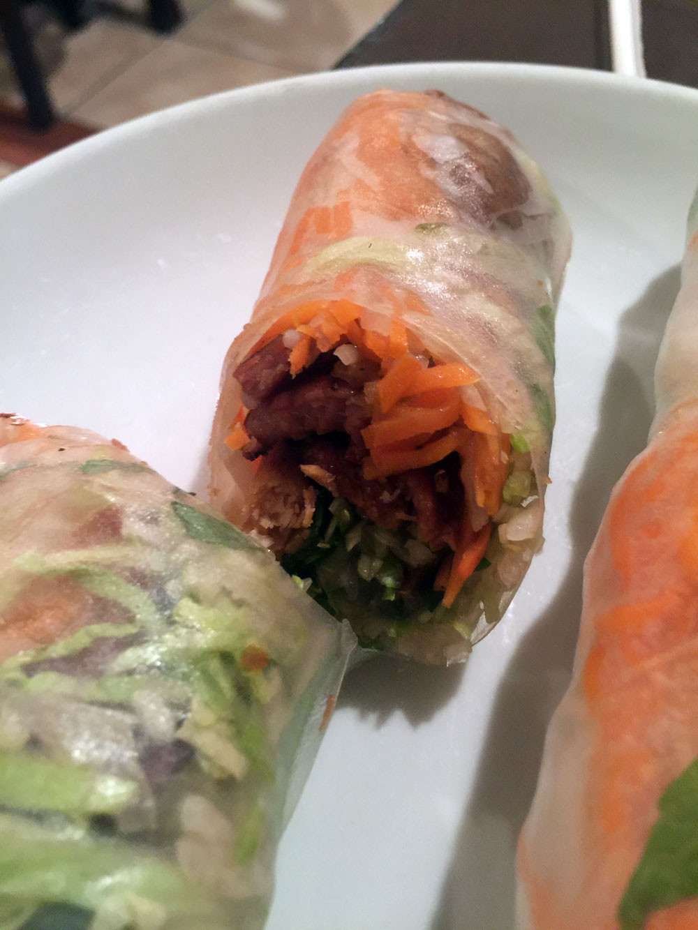 My Favorite Rolls Are The Thit Nuong Cuon Bbq Pork Rolls These Delicious Smokey Pork Rolls Are I Believe The Best I Ve Ever Had