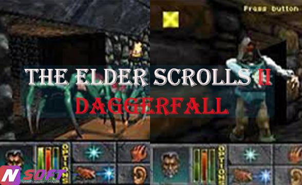 طريقة تحميل لعبة المغامرة والقتال The Elder Scrolls II Daggerfall