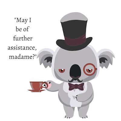 my fantasy Koala Butler