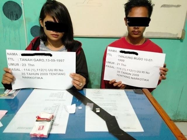Hendak Konsumsi Sabu, Sepasang Kekasih di Merangin Ditangkap Polisi