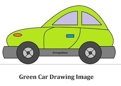 Car Drawing Image Green, Car Drawing for kids, how to draw car, car png images