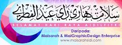Salam Aidilfitri dari MaisarahSidi.com
