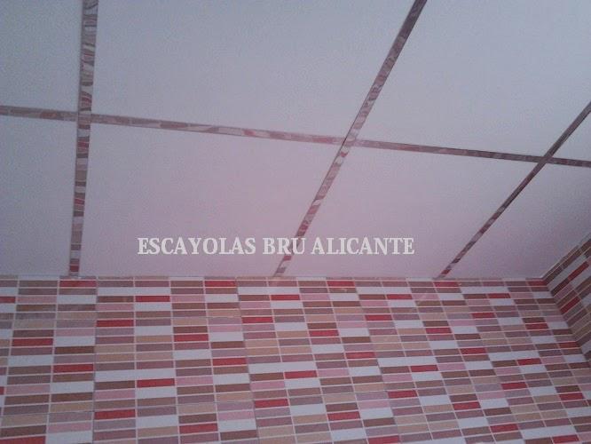 Escayolas bru alicante techos desmontables for Tipos de techos desmontables