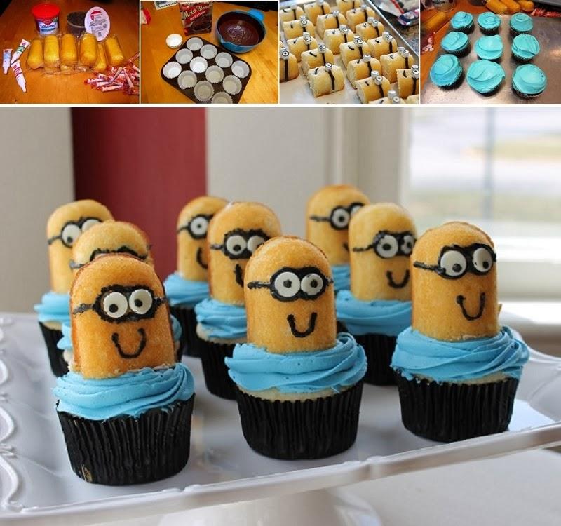 DIY Despicable Me Minion Cupcakes