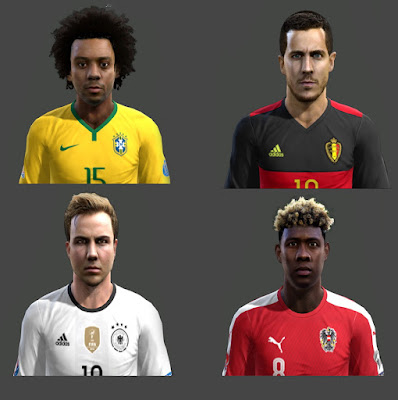 PES 2013 Facepack Mix by Hamido Facemaker
