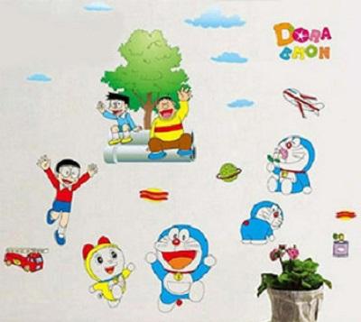 Decal hoạt hình doremon