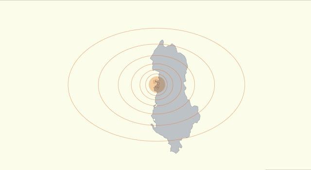 L'Albania colpita da un terremoto di magnitudo 4,5
