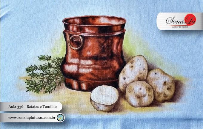 Aula 336 - Batatas e Tomilho