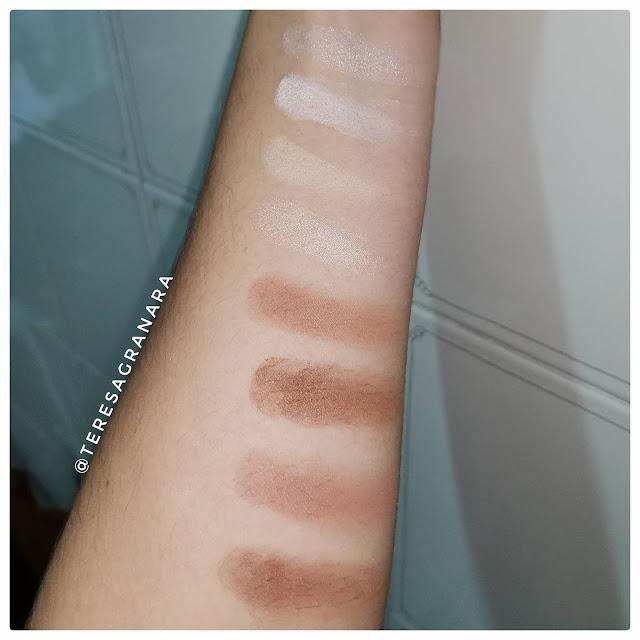 Makeup Revolution - Palette Iconic Lights & Contour Pro teresagranara