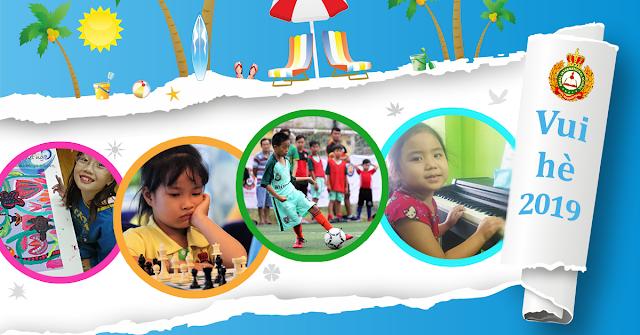 Các lớp học năng khiếu hè 2019 cho trẻ tại tphcm