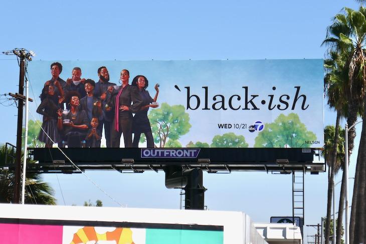 Black-ish season 7 billboard