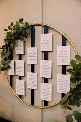round seating chart display