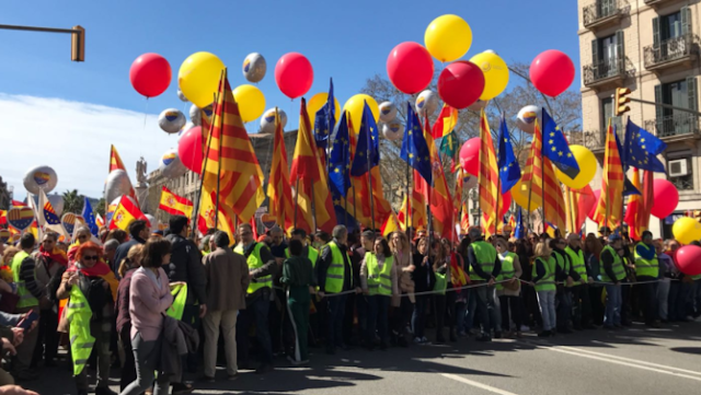 PSOE, PP, Cs y Vox asistirán a la manifestación de Sociedad Civil Catalana