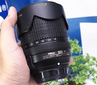 Lensa Nikon 18-140mm VR Bekas