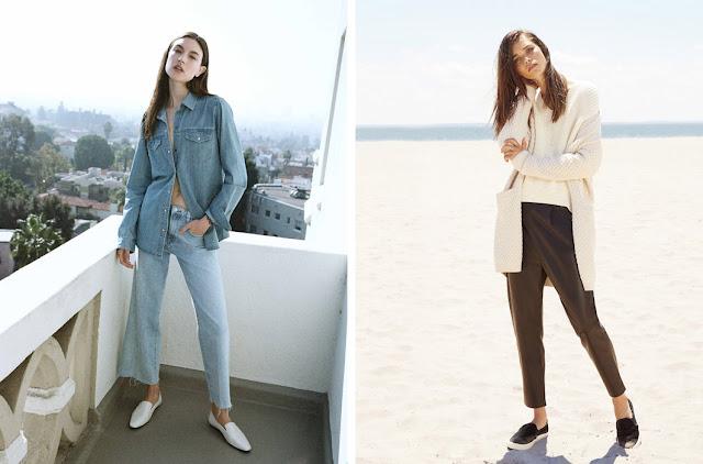 Джинсы и джинсовая рубашка и белый кардиган
